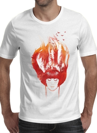 Burning Forest para Camisetas hombre