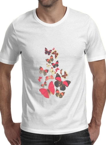 Come with me butterflies para Camisetas hombre