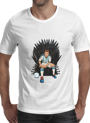 Game of Thrones: King Lionel Messi - House Catalunya para Camisetas hombre