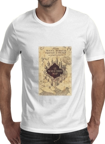 Harry Potter Marauder Map para Camisetas hombre