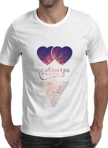 I will love you para Camisetas hombre