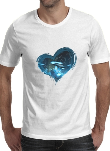 Ice Fairytale World para Camisetas hombre