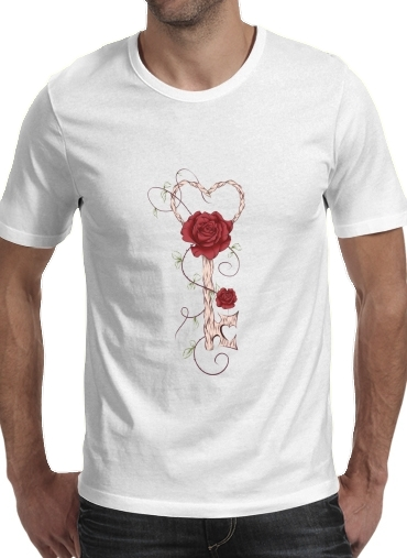 Key Of Love para Camisetas hombre