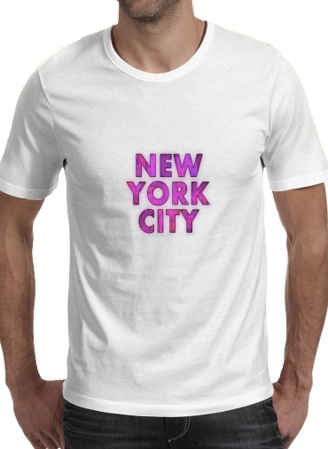 New York City - Broadway Color para Camisetas hombre