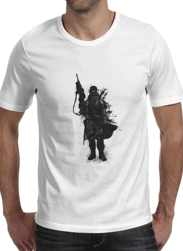 Post Apocalyptic Warrior para Camisetas hombre