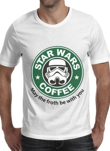 Stormtrooper Coffee inspired by StarWars para Camisetas hombre