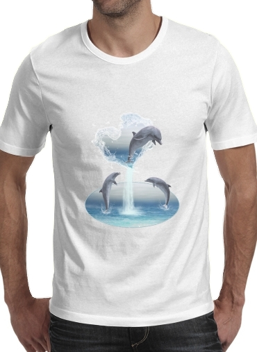The Heart Of The Dolphins para Camisetas hombre