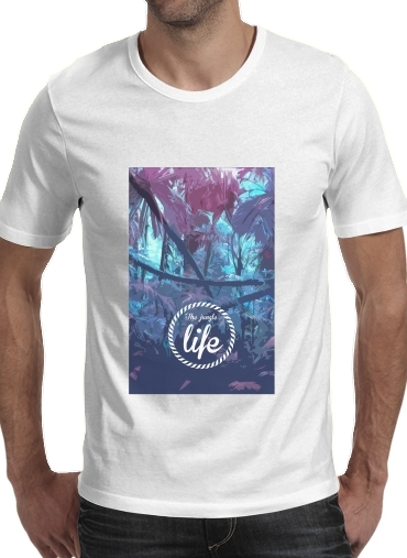 the jungle life para Camisetas hombre