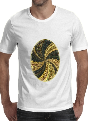 Twirl and Twist black and gold para Camisetas hombre