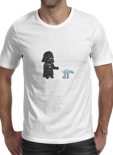 Walking The Robot para Camisetas hombre