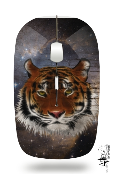 Abstract Tiger para Ratón óptico inalámbrico con receptor USB