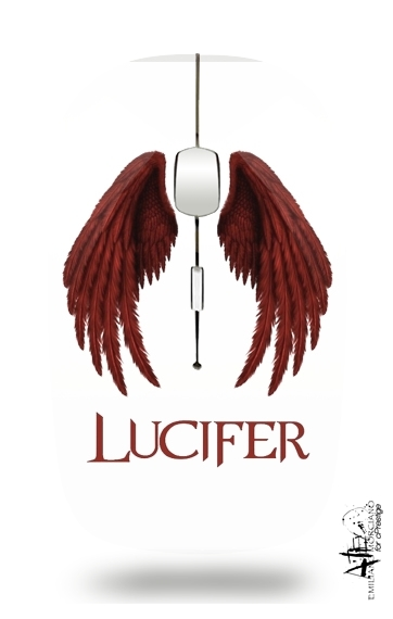 Lucifer The Demon para Ratón óptico inalámbrico con receptor USB
