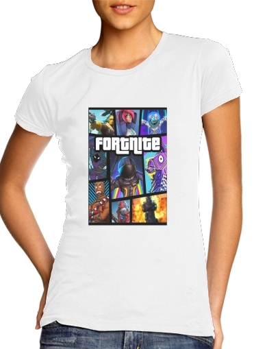 Fortnite - Battle Royale para Camiseta Mujer