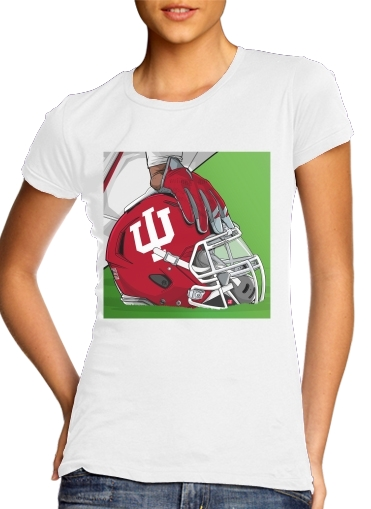 Indiana College Football para Camiseta Mujer