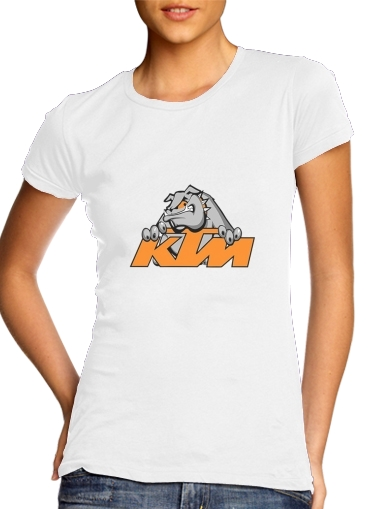KTM Racing Orange And Black para Camiseta Mujer