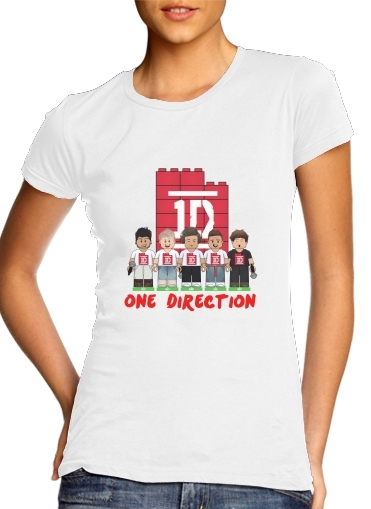 Lego: One Direction 1D para Camiseta Mujer