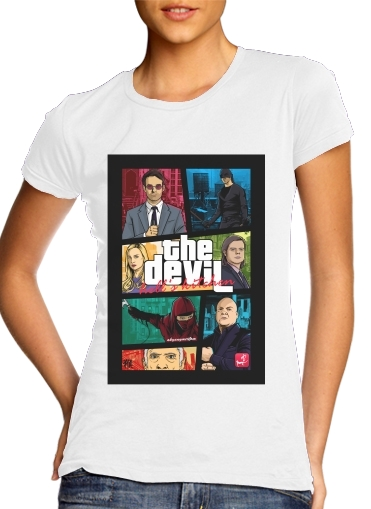 Mashup GTA The Devil para Camiseta Mujer