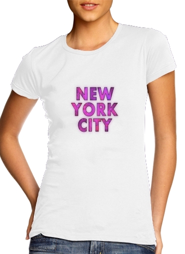 New York City - Broadway Color para Camiseta Mujer