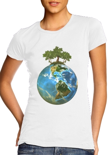 Protect Our Nature para Camiseta Mujer