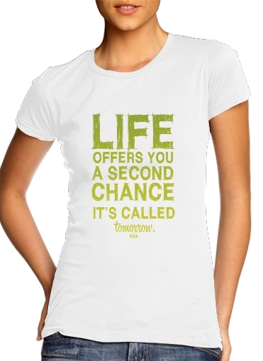 Second Chance para Camiseta Mujer