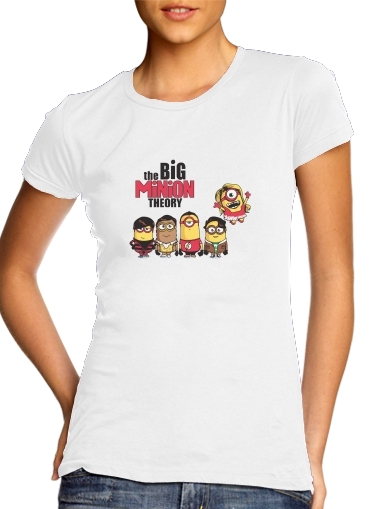 The Big Minion Theory para Camiseta Mujer