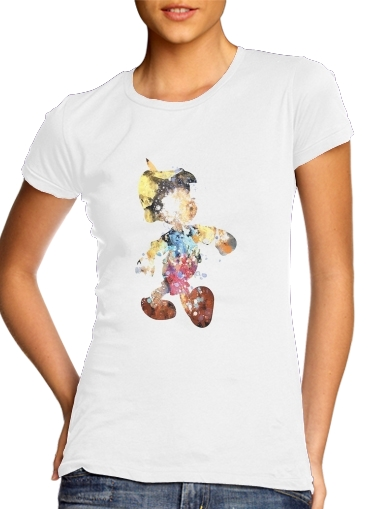 The Blue Fairy pinocchio para Camiseta Mujer