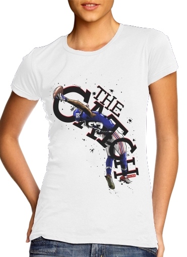 The Catch NY Giants para Camiseta Mujer