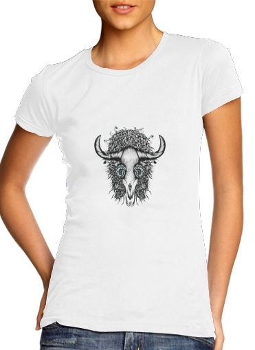 The Spirit Of the Buffalo para Camiseta Mujer