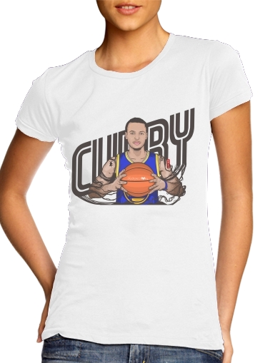 The Warrior of the Golden Bridge - Curry30 para Camiseta Mujer