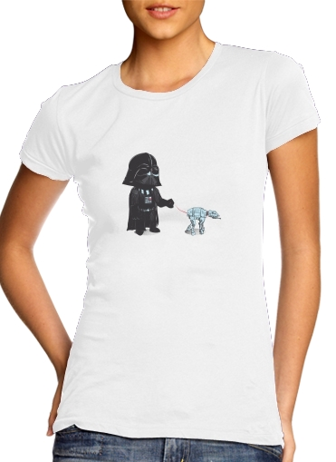 Walking The Robot para Camiseta Mujer
