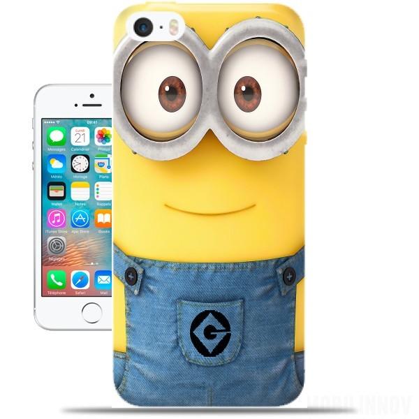 carcasa iphone se minion