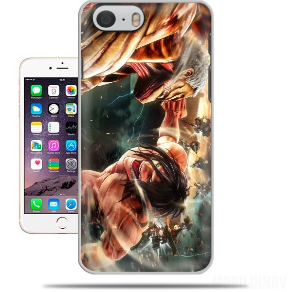 Carcasa Attack on titan - Shingeki no Kyojin para Iphone 6 4.7