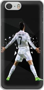 funda Cristiano Ronaldo Celebration Piouuu GOAL Abstract ART for Iphone 6 4.7