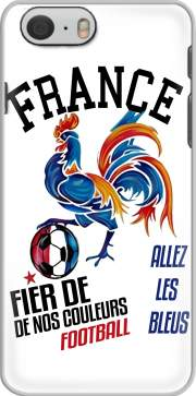 funda France Football Coq Sportif Fier de nos couleurs Allez les bleus for Iphone 6 4.7