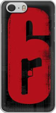 Funda Inspiration Rainbow 6 Siege - Pistol inside Gun para iphone-6