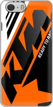 Funda KTM Racing Orange And Black para iphone-6