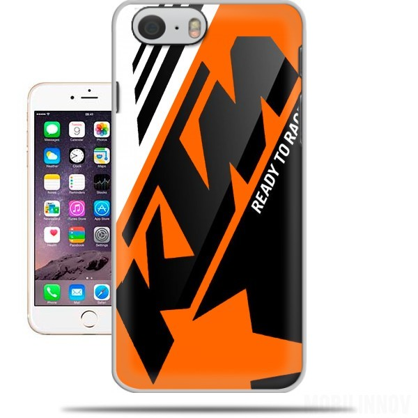 Carcasa KTM Racing Orange And Black para Iphone 6 4.7