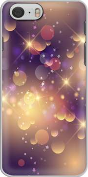 Purple Sparkles Carcasa para Iphone 6 4.7