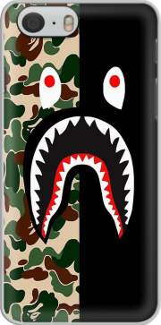 Funda Shark Bape Camo Military Bicolor para Iphone 6 4.7