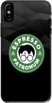Funda Espresso Patronum inspired by harry potter para Iphone X
