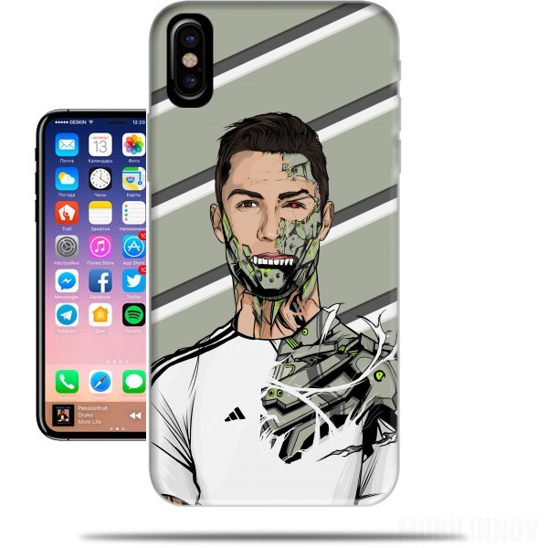carcasa real madrid iphone x