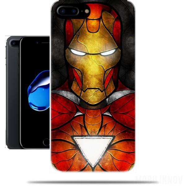 iphone 8 carcasa iron man