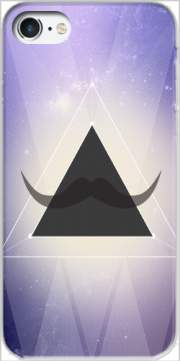 Hipster Triangle Mustache Carcasa para Iphone 7 / Iphone 8