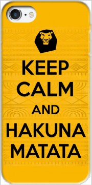 Keep Calm And Hakuna Matata Carcasa para Iphone 7 / Iphone 8
