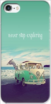 Never Stop Exploring - Lamas on Holidays Carcasa para Iphone 7 / Iphone 8