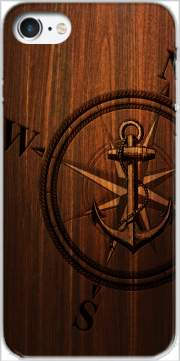 Wooden Anchor Carcasa para Iphone 7 / Iphone 8