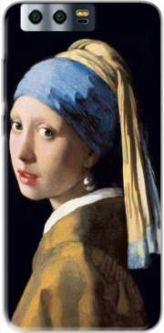 Funda Girl with a Pearl Earring para Honor 9