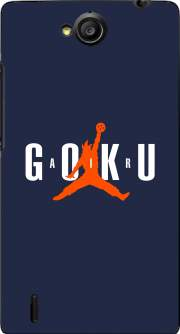 Funda Air Goku Parodie Air jordan para Huawei Ascend G740