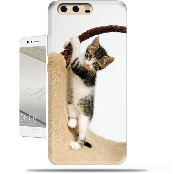 carcasa gato huawei p10 lite
