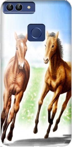 carcasas de huawei p smart caballo